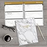 2018 Marble + Gold Large Weekly Monthly Planner