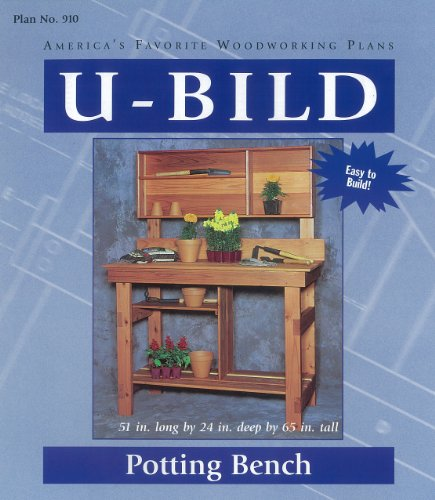U-Bild 910 Potting Bench Project Plan Potting Bench Plan