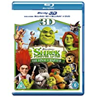 Deals on Shrek Forever After Blu-Ray 3D