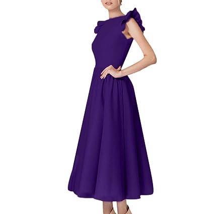 Amazon.com: Vestido de mujer elegante y sexy, diseño de ...