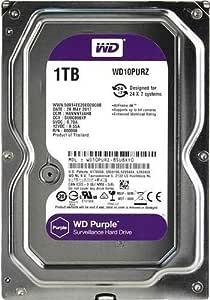 AED WD 1TB Purple Surveillance Internal Hard Drive (WD10PURZ)