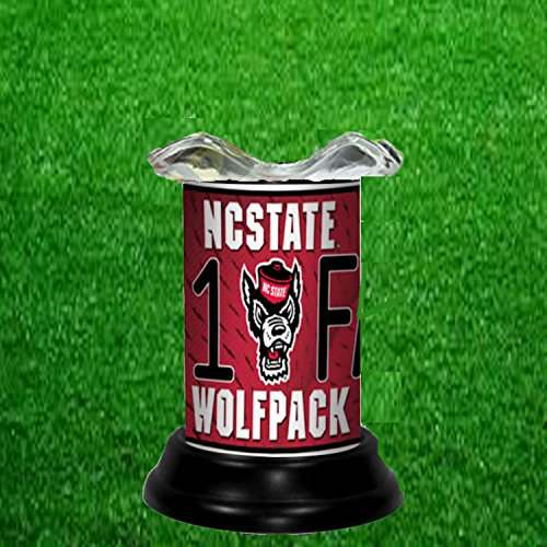 NC STATE WOLFPACK NCAA TART WARMER - FRAGRANCE LAMP - BY TAGZ SPORTS - North Carolina State Wolfpack Lamp