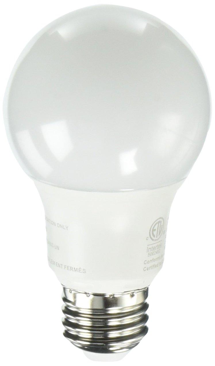 LEDone A19-60WE-8.5W27K Bulb Equivalent 800 Lumens 2700K, 27K, 60W, 8.5W, 6 Piece