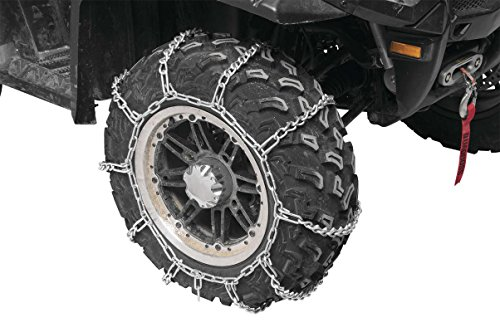 2007-2008 Yamaha 700 Grizzly - Front Snow Chains (2 Chains) - Tire Size 25x8x12