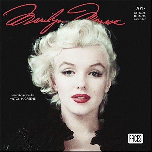 Marilyn Monroe Mini Calendar 2017 - Deluxe Small Wall Calendar (7x7)