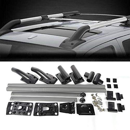 - YIWON Roof Rack Rail Cross Bar Luggage Carrier Fits for 05-17 Nissan Frontier 4-Door Models w/Hardware
