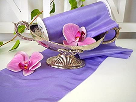 5 m Car Decoration Table Runner Lilac Table Runner Communion Wedding Decoration Table Communion on