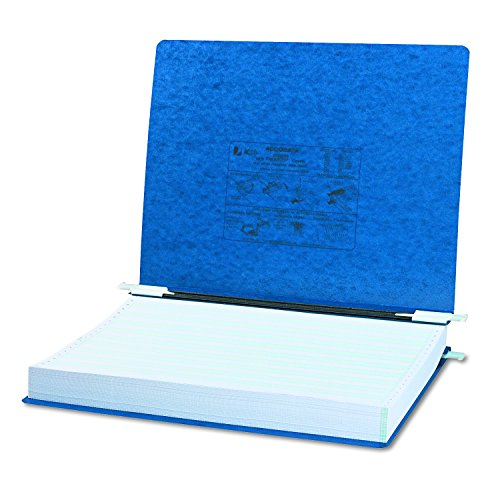 ACCO PRESSTEX Hanging Data Binder with Storage Hooks, 14.88 x 11 Inch Sheet Size, Unburst Sheets, 6 Inch Capacity, Dark Blue (A7054073) Acco Presstex Data Binder