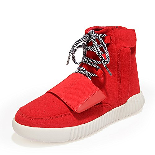 MUOU Sneakers Basses Homme Rouge