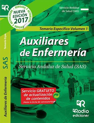 Auxiliares de Enfermeria. Servicio Andaluz de Salud (SAS). Temario Especifico Volumen 1 (Spanish Edition) [Varios Autores] (Tapa Blanda)