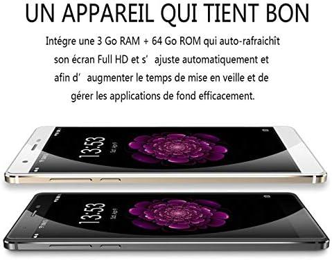 Socialism OUKITEL U13 5,5 Pollici Display 3 GB RAM 64 GB Rom Smart Phone Octa-Core Full Metal Body 4G Phone per Android 6.0