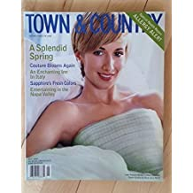 Town and Country magazine, May 1999, Lady Victoria Hervey
