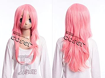 Kawaii-Story W DE 17 DE bc26 Rosa 60 cm Cosplay Peluca Wig Perruque Pelo