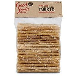 Good Lovin\' Natural Flavor Twists Dog Chews, 1.2 lbs.