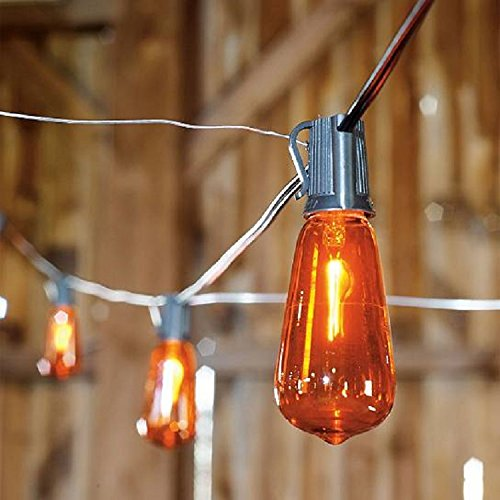 Good Tidings Flicker Flame Edison Light Bulbs Halloween -