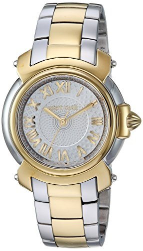 Ladies Franck Muller - Roberto Cavalli by Franck Muller Women's Swiss Quartz Stainless Steel Casual Watch, Color:Two Tone (Model: RV1L005M0076)