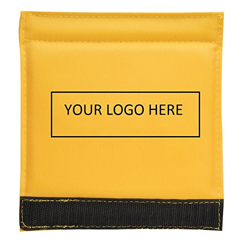 Luggage Spotter Handle Wrap Bag Tag with Inside ID Pocket to Insert Business Card - 100 Quantity Bulk - $1.95 Each includes logo - PROMOTIONAL PRODUCT BRANDED w/ YOUR LOGO / GREAT TRADE SHOW GIVEAWAY! by China (Image #6)