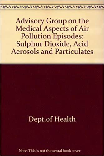 Descarga gratuita de libros de audio para iphoneAdvisory Group on the Medical Aspects of Air Pollution Episodes: Sulphur Dioxide, Acid Aerosols and Particulates 0113215320 CHM