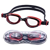 Fuzzomo Swim Goggles, Kids Swimming Goggles No Leaking Anti Fog UV Protection Swim
