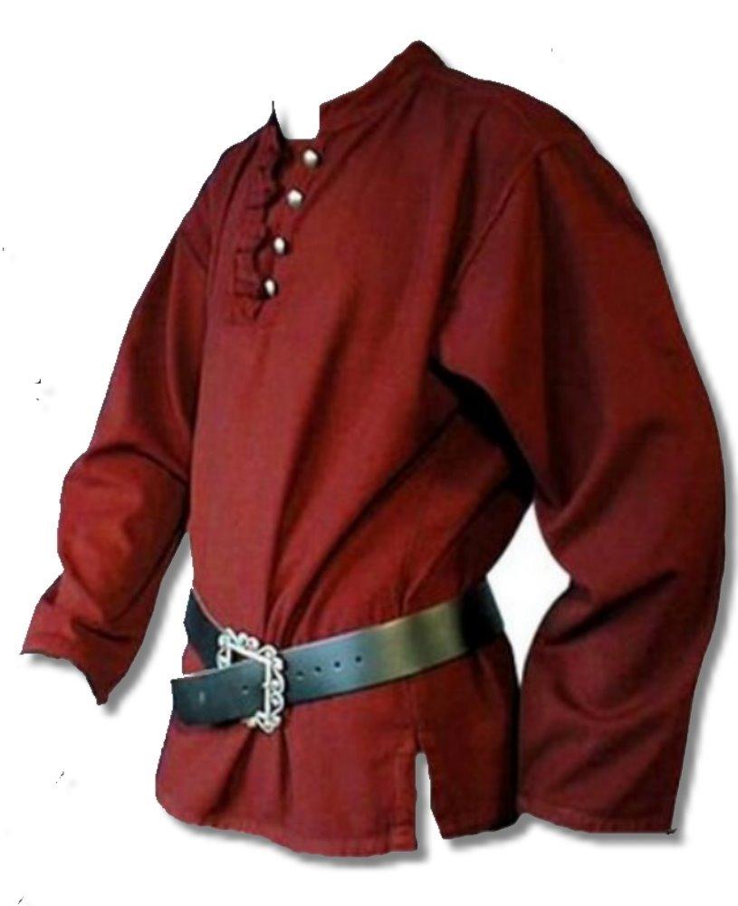 Inter Moden Mittelalter Markthemd - Herren Asgard XXXL weinrot B00FASN9NM Kostüme für Erwachsene Schönes Design    | Öffnen Sie das Interesse und die Innovation Ihres Kindes, aber auch die Unschuld von Kindern, kindlich, glücklich