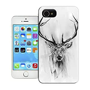 Unique Phone Case Animal painting patterns Red Deer Hard Cover for 4.7 inches Samsung Galaxy Note3 cases-buythecase hjbrhga1544