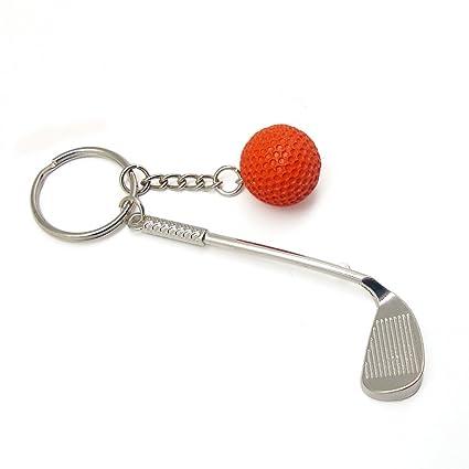8073e8708e5c Amazon.com   Jacinth Golf Clubs Keychain Creative Fashion Sports ...