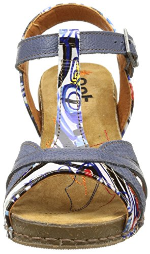 239 Donna Crepusculo Tacco Feel con Arti Scarpe Multicolore Box xfZUp5