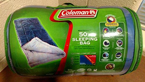 Coleman White Tail Sleeping Bag -- RED -- 33
