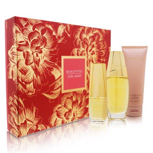 Amazon.com : Beautiful by Estee Lauder for Women Beautiful To Go 3 ...