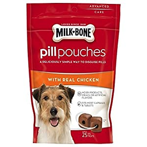Milk-Bone Pill Pouches Real Chicken Flavor Treats, 6-oz, single pack