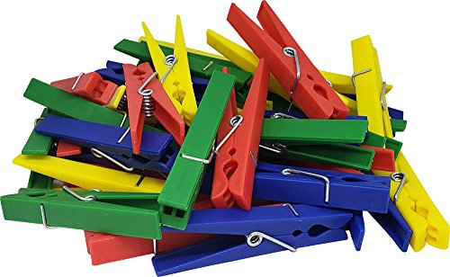 Teacher Created Resources Plastic Clothespins (20649)