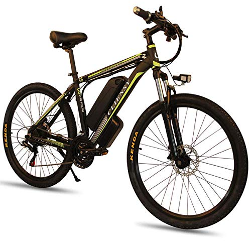 CLIENSY 26' Electric Mountain Bike with 36V 10Ah Removable Large Capacity Lithium Battery, Electric...