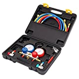 Kyпить Ambienceo AC Diagnostic Manifold Gauge Set Air Conditioner Refrigeration A/C system for R410A R22 R134a R404a на Amazon.com