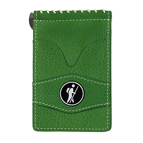 - CMC Scottsdale Player's Leather Wallet with Hiker Marker, Green