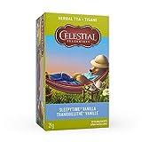 Celestial Seasonings Sleepytime Vanilla Wellness Herbal Tea, 20 Tea Bags per box, 1 box