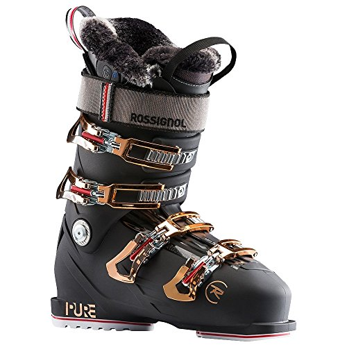 Rossignol Pure Pro Heat Ski Boot - Women's Night Black, 25.5