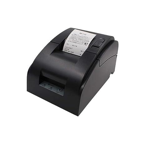 BAIYI Impresora térmica 58Mm Impresora de boletos pequeños ...