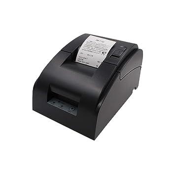 BAIYI Impresora térmica 58Mm Impresora de boletos pequeños Fácil ...