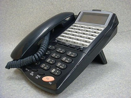 NYC-24iZ-TELSD2 黒 ナカヨ iZ 24ボタンバックライト付標準電話機 [オフィス用品] ビジネスフォン [オフィス用品] [オフィス用品] B00ALLJQ58