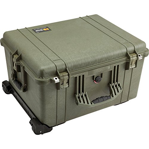 Pelican 1620 Case With Foam (OD Green) by Pelican