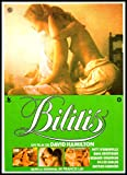 Bilitis Imán para nevera 6x 8David Hamiltons Erotic Francés Póster de la película magnético–Lienzo decorativo, G