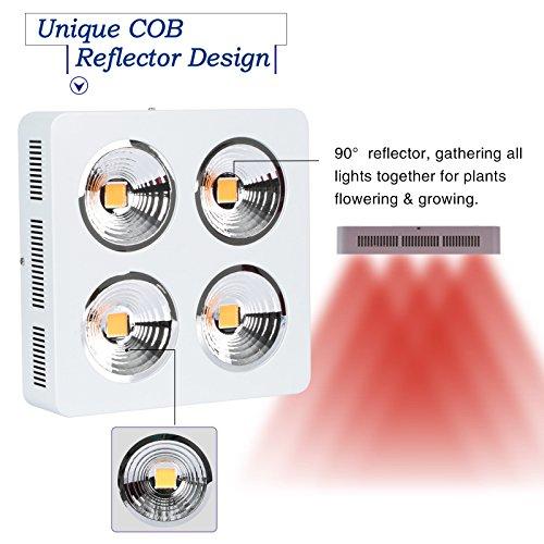 51k9 rzgQ4L - Roleadro 800W-S Full Spectrum LED Grow Light for Veg and Flowering