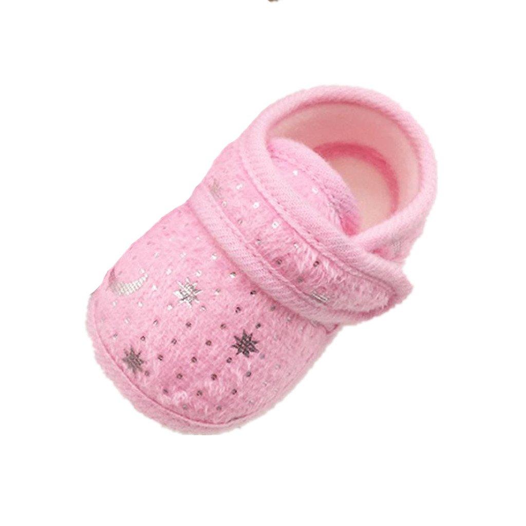 Saingace Starry Sky Printed Toddler Anti-Slip Soft Baby Shoes ZM-2158