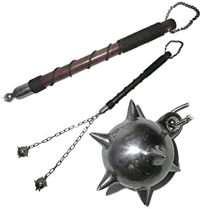 Authentic Medieval Flail...33 inches. Product Category: Medieval Novelties > Medieval Weapons