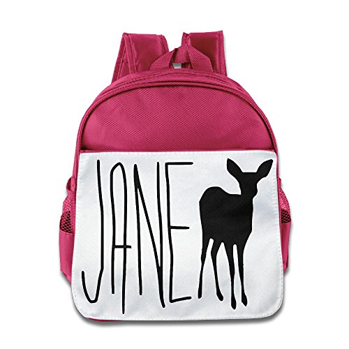 HYRONE Life Is Strange Jane Doe Max Children Schoolbag For 1-6 Years Old Pink