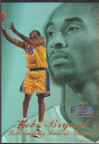 1998 Flair Showcase Kobe Bryant Lakers Basketball Card - 1998 Showcase Flair