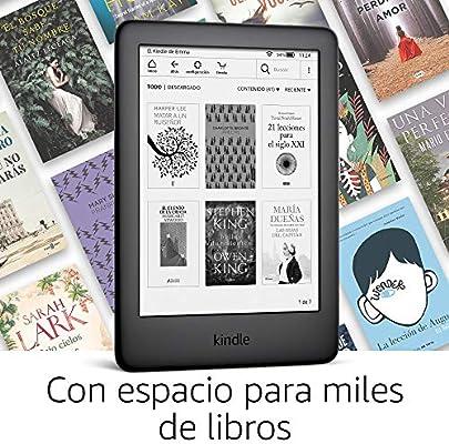 Kindle, ahora con luz frontal integrada, negro: Amazon.es