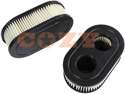 2x cortacésped filtro de aire para Briggs & Stratton 79845259326009P702Stens 102851550500E EX es serie cortacésped partes