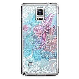 Hairs Samsung Note 4 Transparent Edge Case - Design 8