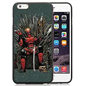 Easy Set,Customized Iphone 6 Plus Case Design with Game Of Thrones Iphone 6 Plus TPU 5.5 Inch Black Cell Phone Case